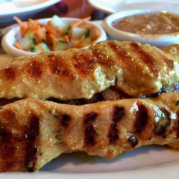 Chicken satay @ Thai Cafe
