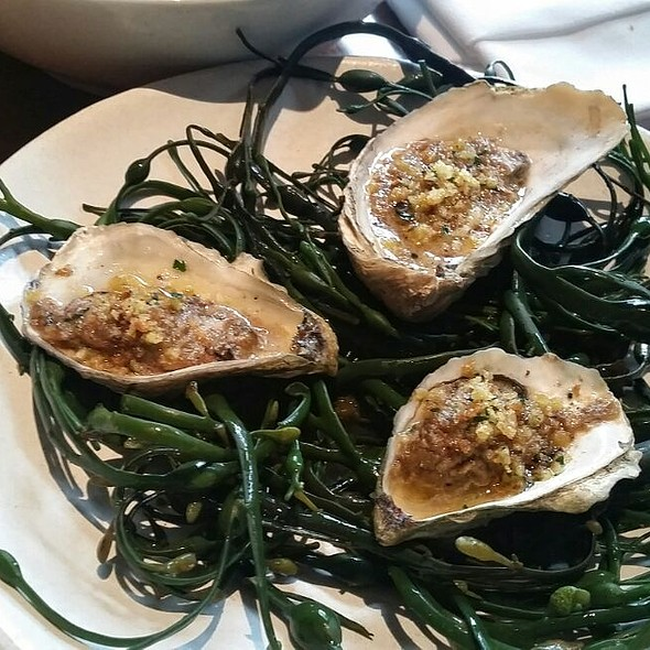 Roasted Oysters @ Gramercy Tavern