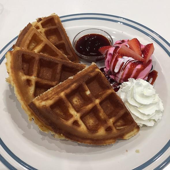 Mixed Berry Waffles