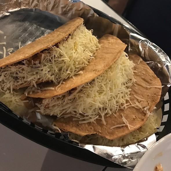 Pork and Beef Tacos @ Burrito Bar