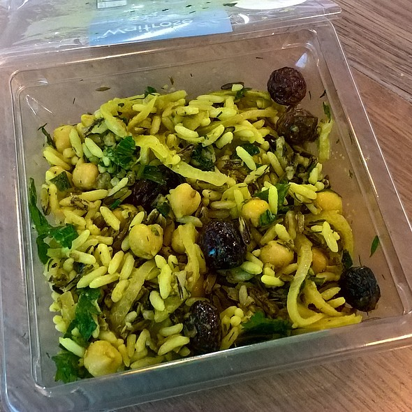 Middle Eastern Spiced Wild Rice Salad