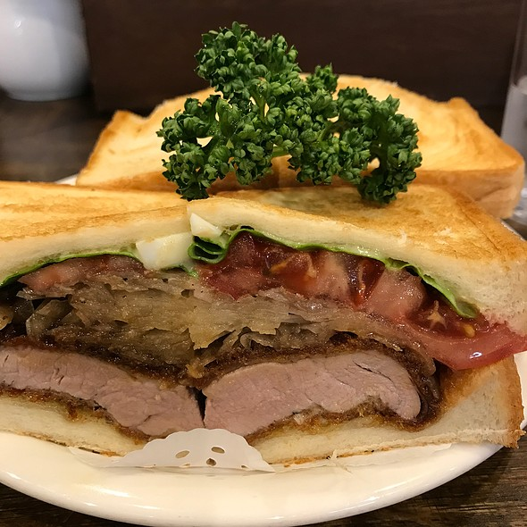 Deep Fried Pork Sandwich