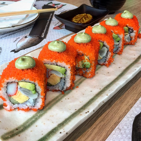 California Roll @ Zuru Japanese Delicious