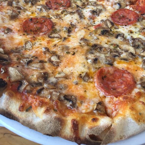 Pepperoni and Mushroom Pizza