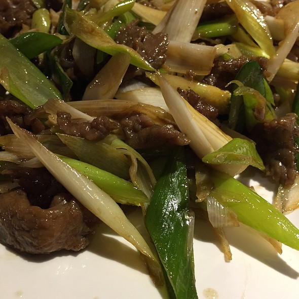 Beef with Spring onions