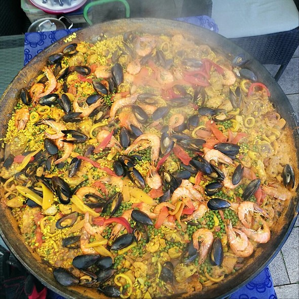 Homemade Paella