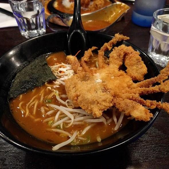 Soft Shell Crab Curry Ramen