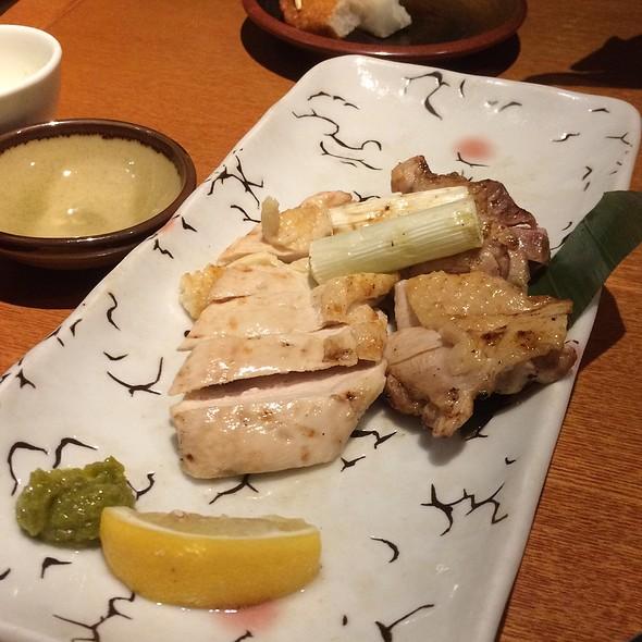 Grilled Chicken with Yuzu Kosho @ 麹蔵 有楽町晴海通り本店