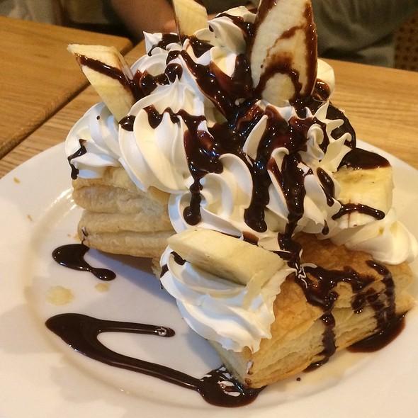 Chocolate Banana Pie @ 珈琲館 紅鹿舎