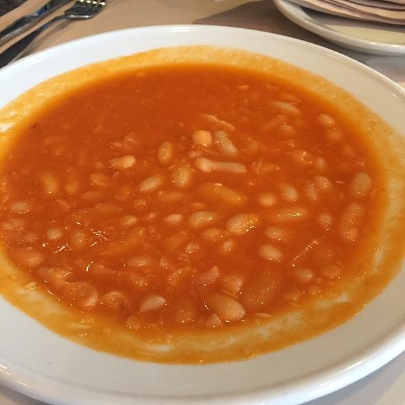 White Bean Soup @ Topo Gigio Ristorante