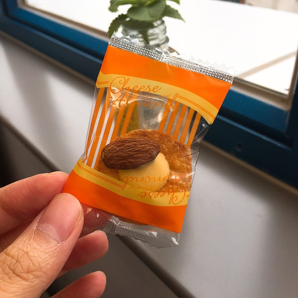 Cheese Almond Cracker