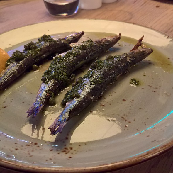 Chargrilled Sardines