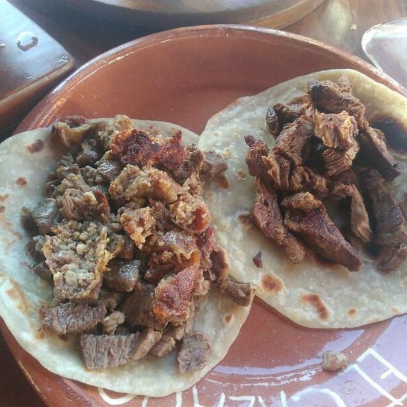 Taco Campechano Y Taco De Cabreria