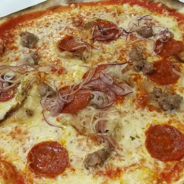 pizza contadina @ Ristorante Pizzeria Rodolfo