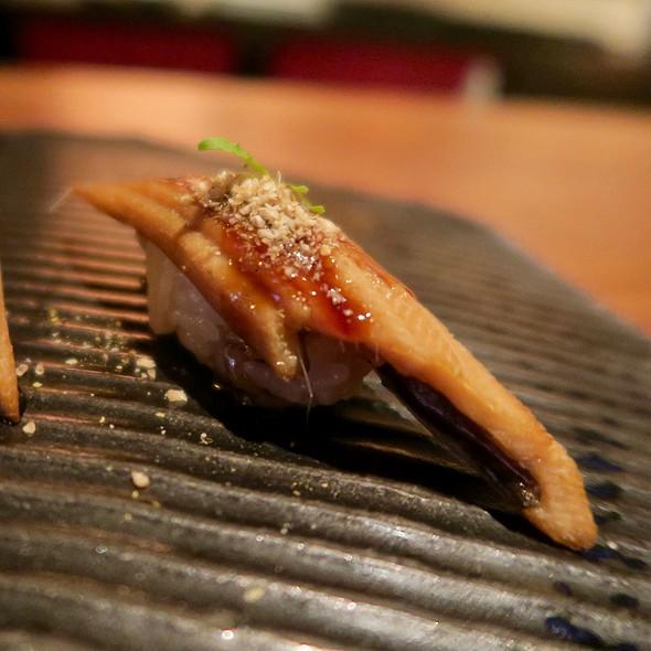 Eel With Thai Basil, Kabayashi, And Kyoto Sansho
