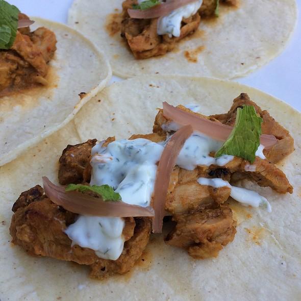 Chicken Tikka Tacos