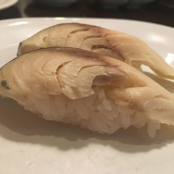 saba nigiri @ Aniki's Sushi
