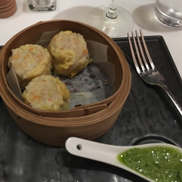 Chicken Dimsums And Thai Green Curry Chicken