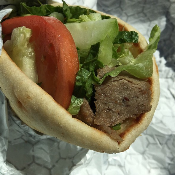 Beef And Lamb Gyro @ The Simple Greek