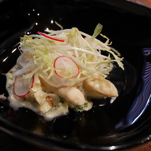 Asparagus, Gouda, Miso