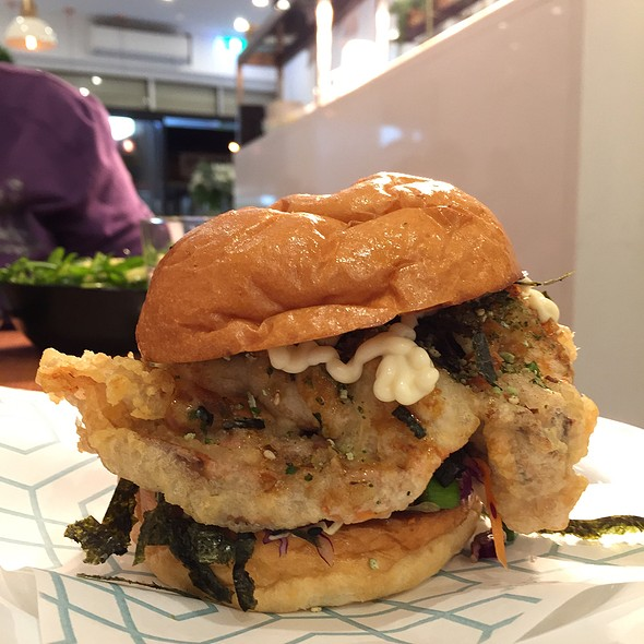 Soft Shell Crab Burger @ The Weston Eatery