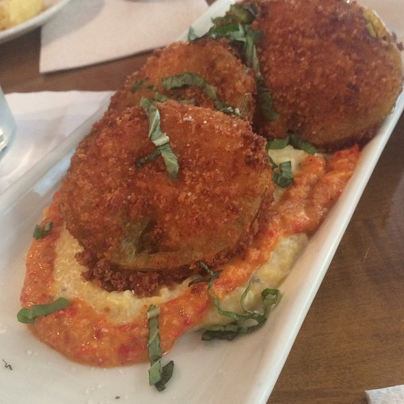Fried Green Tomatoes @ Tupelo Honey Knoxville
