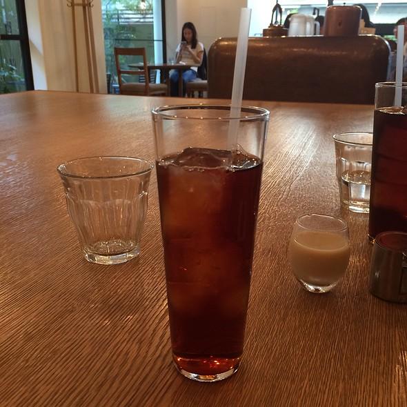 Iced  Tea @ Brown Rice Cafe