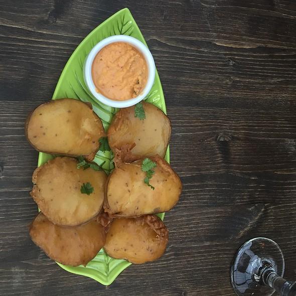 Sweet Potato Bhajji