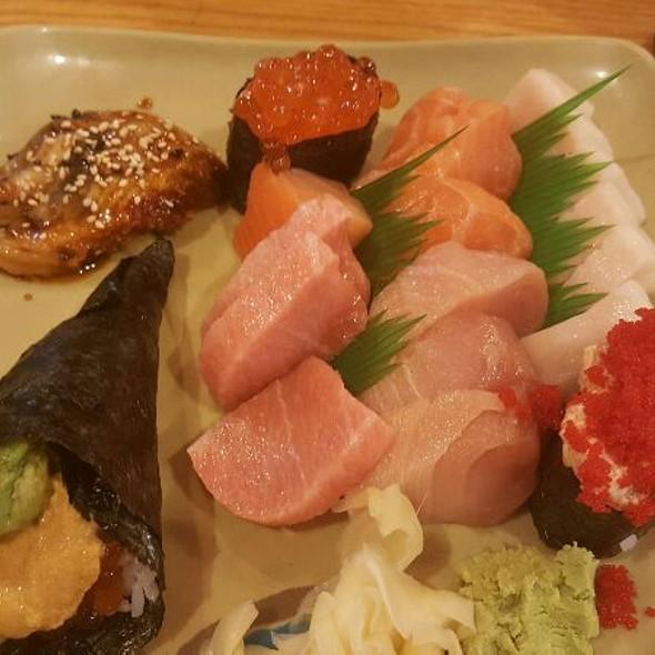 Assorted Sashimi And Handrolls