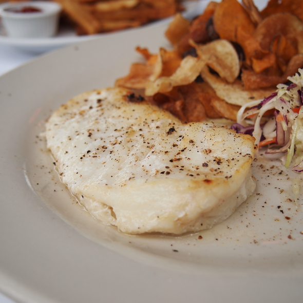 Chilean Sea Bass - Louie's Oyster Bar, Port Washington, NY