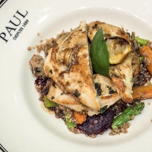 Chicken Quinoa Salad @ paul Patisserie