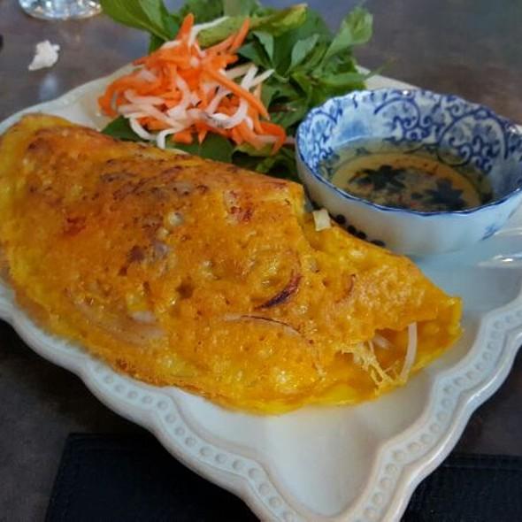 Vietnamese Meat Crepe