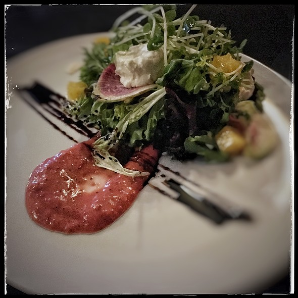 Goat Cheese Salad @ Churchill's Prime Rib House