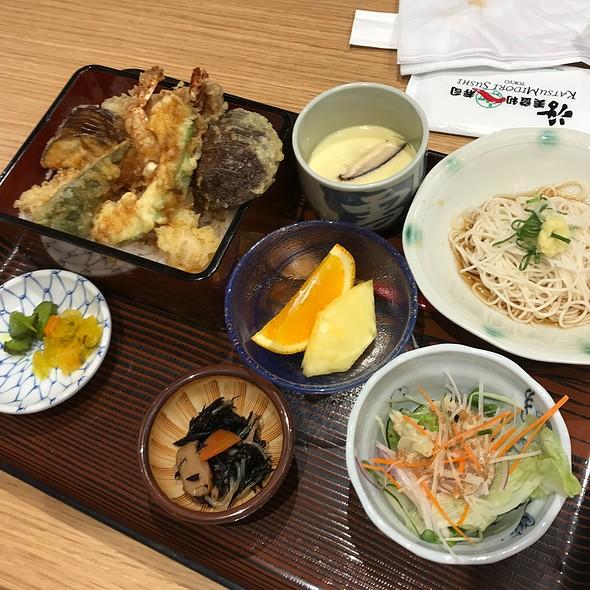 Tempura @ Katsumidori Sushi