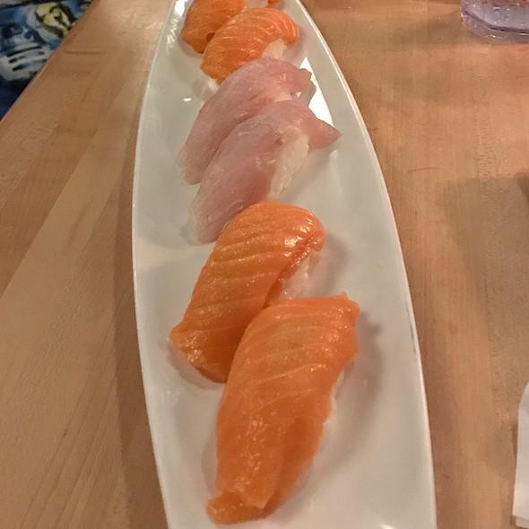 King Salmon And Kampachi Nigiri @ Sansei Seafood Restaurant