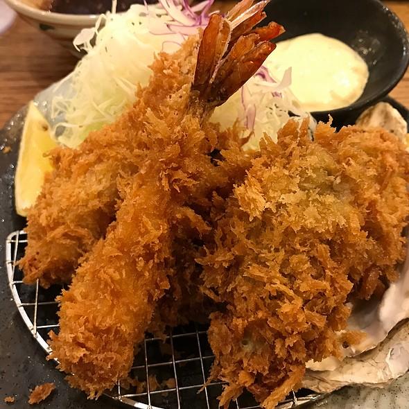 Oysters & Shrimp @ Tonkatsu Tamafuji