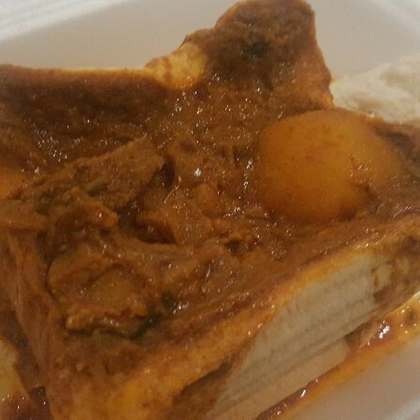 Mutton Bunny Chow @ Ash's Kitchen