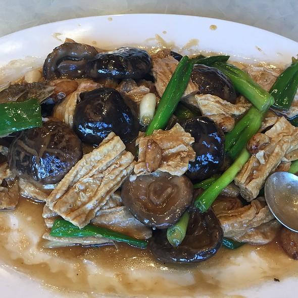 Braised Boneless Fish W/ Dried Bean Curd & Shiitake Mushroom