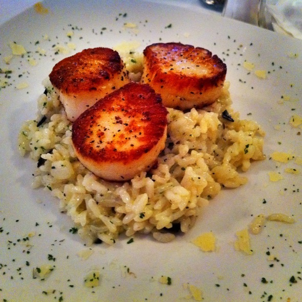 Diver Sea Scallop with truffle risotto  - Butterfield 8 Restaurant & Lounge - NYC, New York, NY