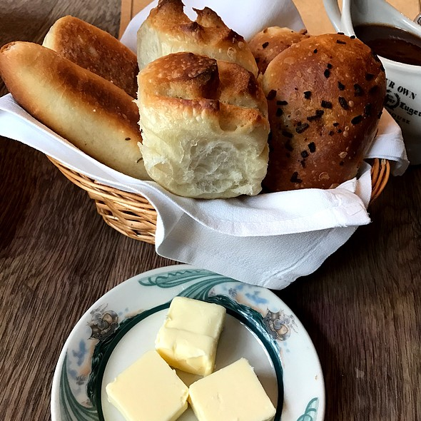 Bread Basket @ Peter Luger Steakhouse