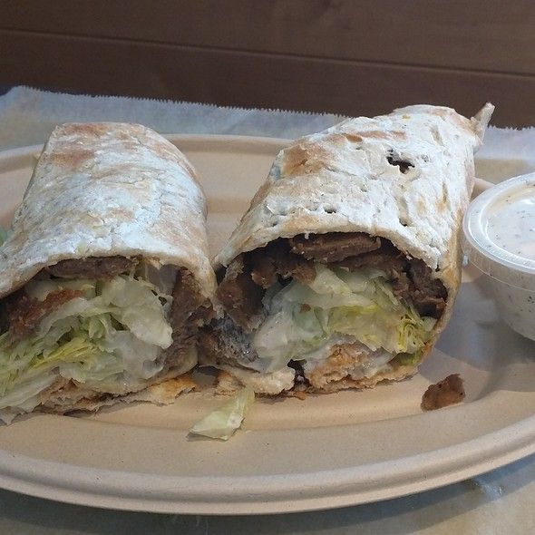 Gyro Sandwich @ Moby Dick House Of Kabob