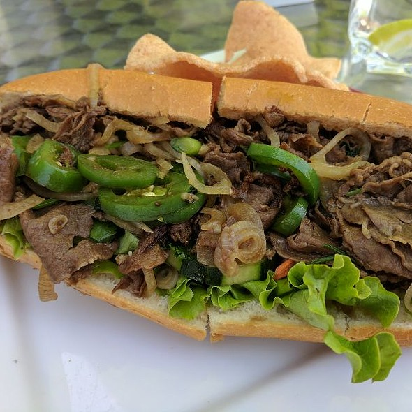 Beef With Lemongrass Banh Mi @ Number Nine