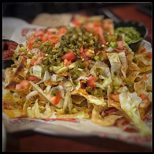 Veggie Nachos @ St.Louis Bar & Grill