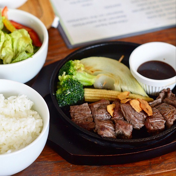 Japanese Steak @ Zamami Village Office