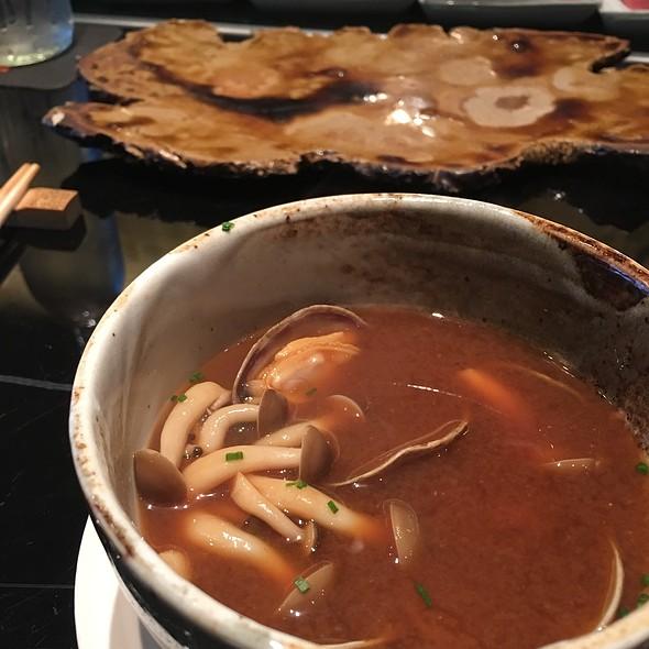 Miso Mushroom Ekadasi Clam Soup