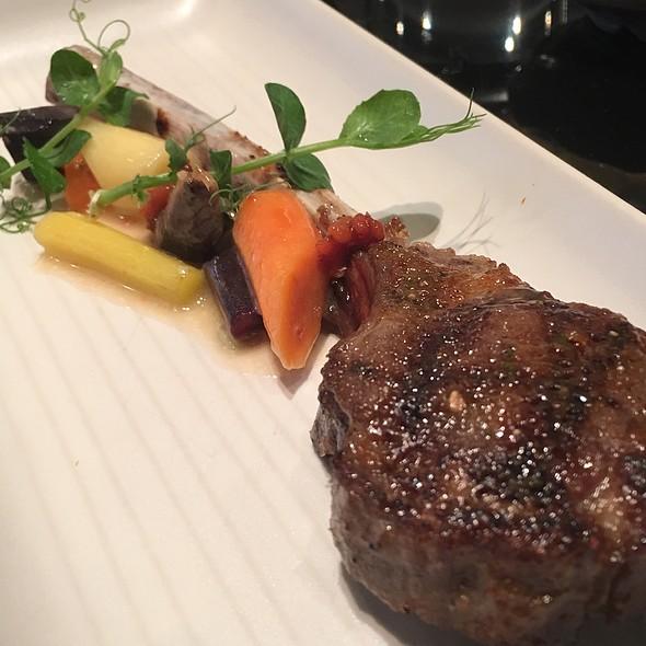 Miso Glazed Lamb Chop