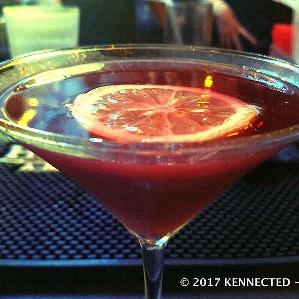 Blueberry Martini @ Turntable Retro Bar & Restaurant