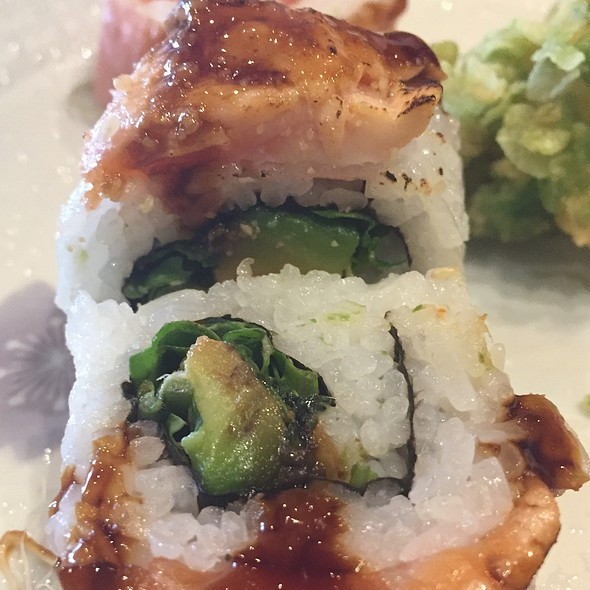 Spinach/Eel Roll
