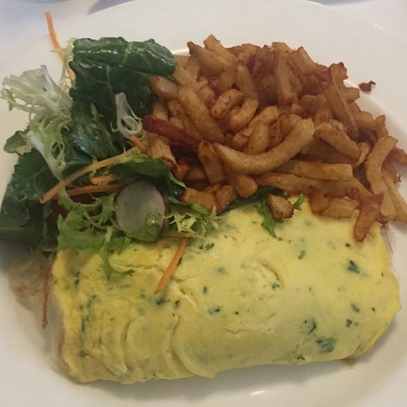 Aged Cheddar Omelette