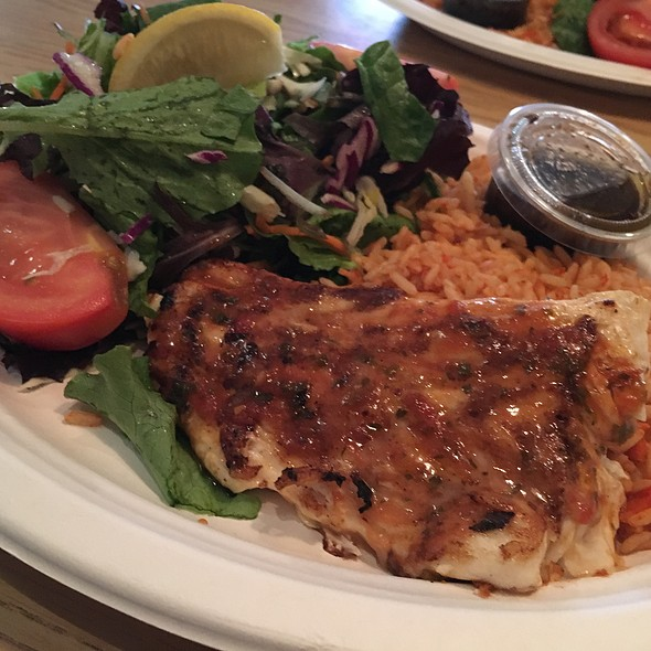 Grilled Halibut Plate